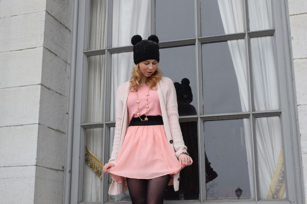 girly style, pink diary, pink outfit, pretty in pink, cute pink, pink street style, cute street style, annie robinson, fabincblog