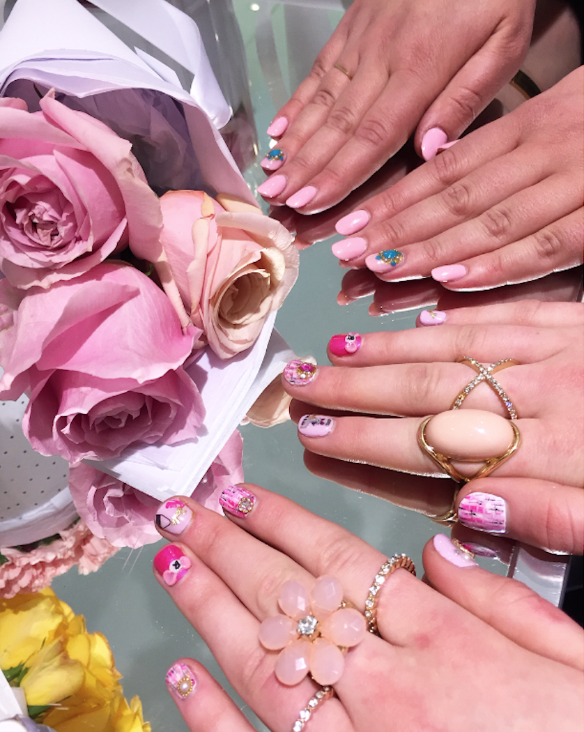 Kawaii barbie nail art at bar ongles candy montreal fashion when it comes to over the top and glamorous nail art kawaii manicures reign supreme prinsesfo Images